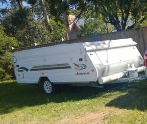 Jayco hawk 2003 w annexe and cover (not swan eagle flamingo dove) Crib Point Mornington Peninsula Preview