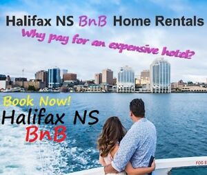 $89/day BnB Halifax Downtown Home instead of expensive Hotel!