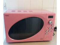 Pink microwave and matching toaster Next