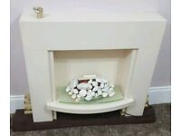 **LOVELY** ELECTRIC FIRE SURROUND SPARE OR REPAIRS