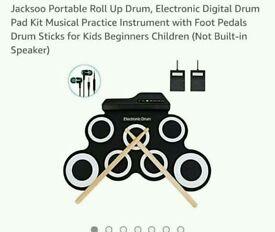 Jacksoo portable drum kit new