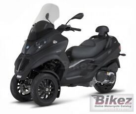 breaking piaggio mp3 500