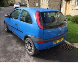 Vauxhall Corsa 2001