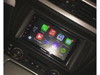 Apple CarPlay Pioneer SPH-Da120 with BMW faceplate and wiring harness!!
