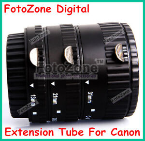 AF Auto Focus Macro Extension Tube for CANON EOS EF EF-S