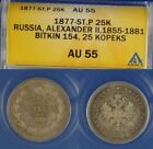 1877 Year Russian Coins