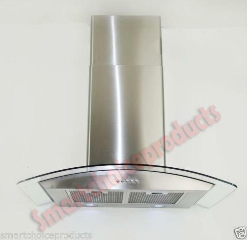 30 Quot Glass Range Hood Ebay