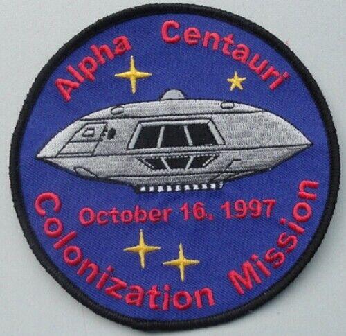 Lost In Space - Jupiter 2 Colonization Mission Patch J2 Netflix