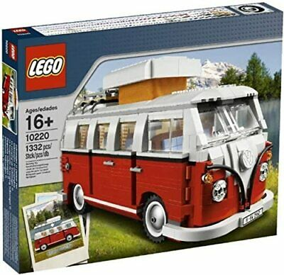LEGO CREATOR VOLKSWAGEN T1 CAMPER VAN 10220 100% COMPLETE WITH MANUALS NO BOX