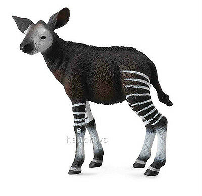 CollectA 88533 Okapi Calf Realistic Model African Wild Animal Toy Replica - NIP