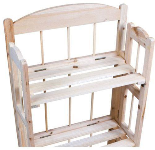 Folding Shelf Unit Bookcases Shelving Amp Storage Ebay
