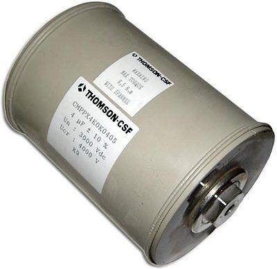 PPX Series 4uF 3000V 10% High Power Film Foiled Capacitor CMPPX4K0K0405 4mfd 3KV