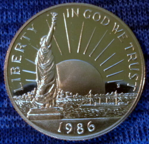 1986-S Statue of Liberty Commemorative Half Dollar - Beautiful Proof Coin