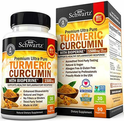 Turmeric Curcumin with BioPerine 1500mg - Joint & Healthy In