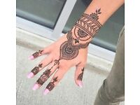 Henna designs starting from just £5. Ladies only.