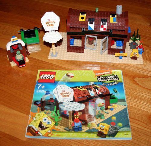 Lego Krusty Krab 3825 | eBay