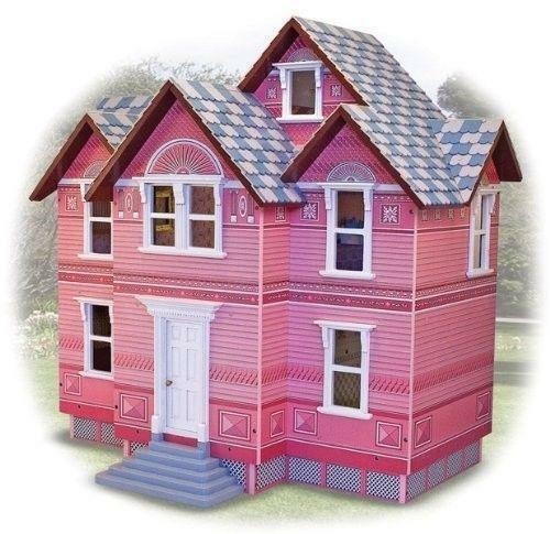 Victorian Wooden Doll House Ebay