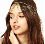Gold Chain Head Piece