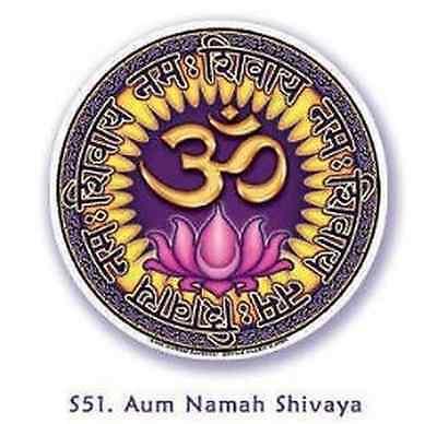 FENG SHUI Fensterbild Aum Namah Shivaya