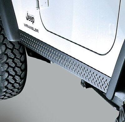Rugged Ridge Side  Body Armor Rocker Panel Kit for Jeep TJ Wrangler 1997-2006  - Jeep Wrangler Body Armor