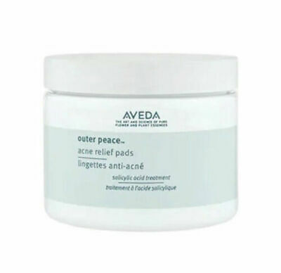 AVEDA Outer Peace Acne Blemish Relief Pads 50 Pads New in Box