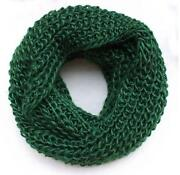 Green Knit Scarf