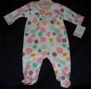 Baby Girl Sleepers 0-3 Months