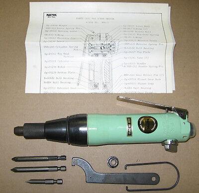 New Pneumatic Air Screwdriver Screwgun Npk Nds-4