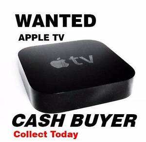 WANTED Apple TV - ***CASH BUYER*** Collect Today Sylvania Sutherland Area Preview