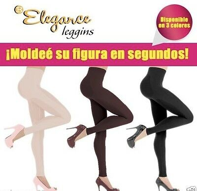 3 Elegance Leggings 360 Body Shaper Slimmer Panty Medias Hot Pants Legging Redu segunda mano  Embacar hacia Mexico