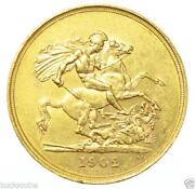 Edward VII Gold Sovereign