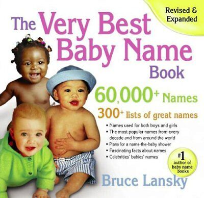 Very Best Baby Name Book - The Very Best Baby Name Book: 60,000+ Names