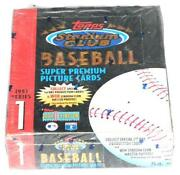1993 Topps Stadium Club Baseball