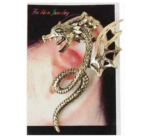 Dragon Ear Cuff Earrings Ebay