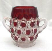Red Block Glass