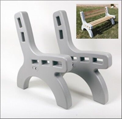 Park Bench Ends Indoor Outdoor Picnic 2x4 ...