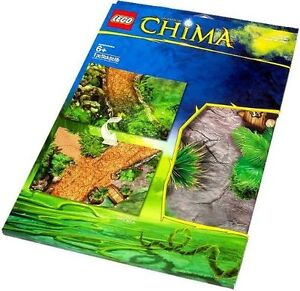New Lego set 850899 Chima Outlands playmat laminated play mat