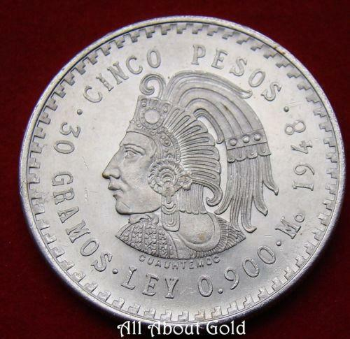 5 Mexican Coin Ebay