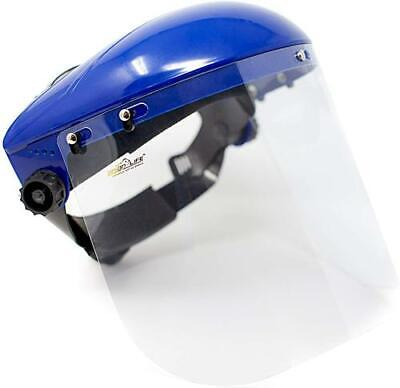 Safety Headgear With Clear Polycarbonate Face Shield Pack Of 16
