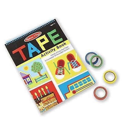 Melissa And Doug Tape Activity Book NEW Toys Kids Fun Crafts Arts ](Arts And Crafts Toys)