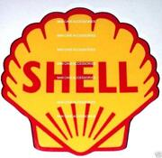 Shell Oil Decal
