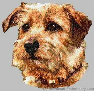 Large Embroidered Zippered Tote - Norfolk Terrier DLE2492