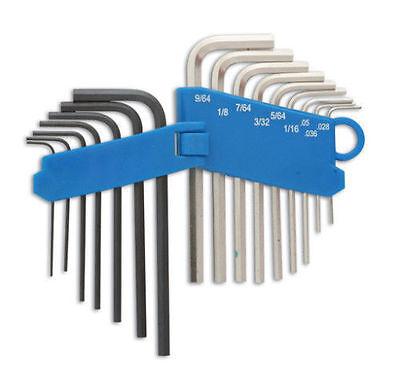 Mini Small Metric 0.7mm > 3.0mm + AF Hex Allen Key Set In Holder