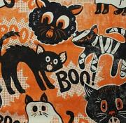 Vintage Halloween Fabric