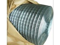 Hot dipped Wire Netting Mesh for chicken , birds Avery, Fence and your garden ( L 25m x W 1m )