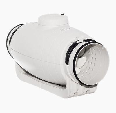 Schallgedämmter Kanalventilator S&P - TD 350/125 SILENT - SEHR LEISE - 26 dB