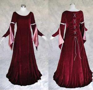 Medieval-Renaissance-Gown-Dress-SCA-Costume-Wedding-2X