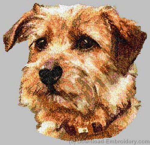 Embroidered Fleece Jacket - Norfolk Terrier DLE2492 Sizes S - XXL