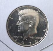 1970 s Proof Kennedy Half Dollar