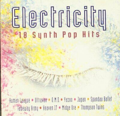 Usado, Electricity-18 Synth Pop Hits (1993) Human League, Ultravox, OMD, Yazoo, .. [CD] comprar usado  Enviando para Brazil